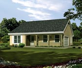 Plan Number 95814 - 1202 Square Feet