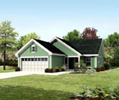 Plan Number 95819 - 1140 Square Feet