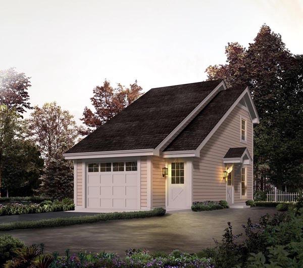 Garage Plan 95826 At Familyhomeplans Com