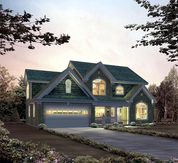 Country Traditional House Plan 95835 Elevation