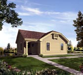 Plan Number 95836 - 1142 Square Feet