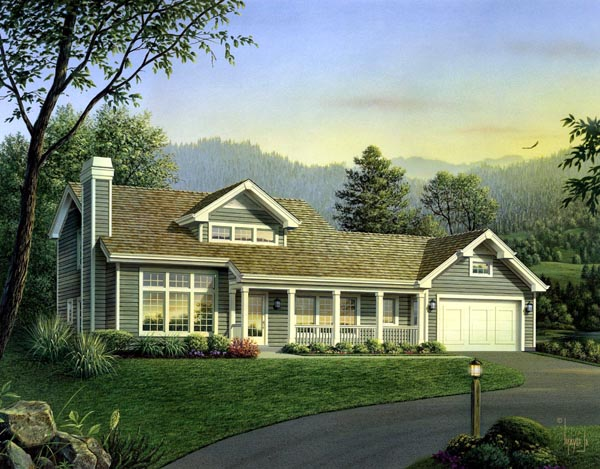 Country House Plan 95847