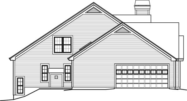 Contemporary, Country House Plan 95849 with 5 Beds, 6 Baths, 2 Car Garage Picture 1