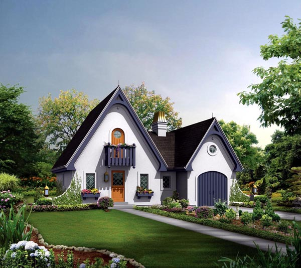Country House Plan 95855 Elevation
