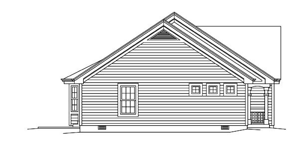 Colonial, Ranch Multi-Family Plan 95881 with 4 Beds, 4 Baths, 2 Car Garage Picture 1