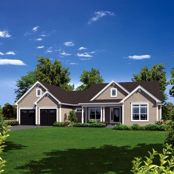 Traditional House Plan 95909