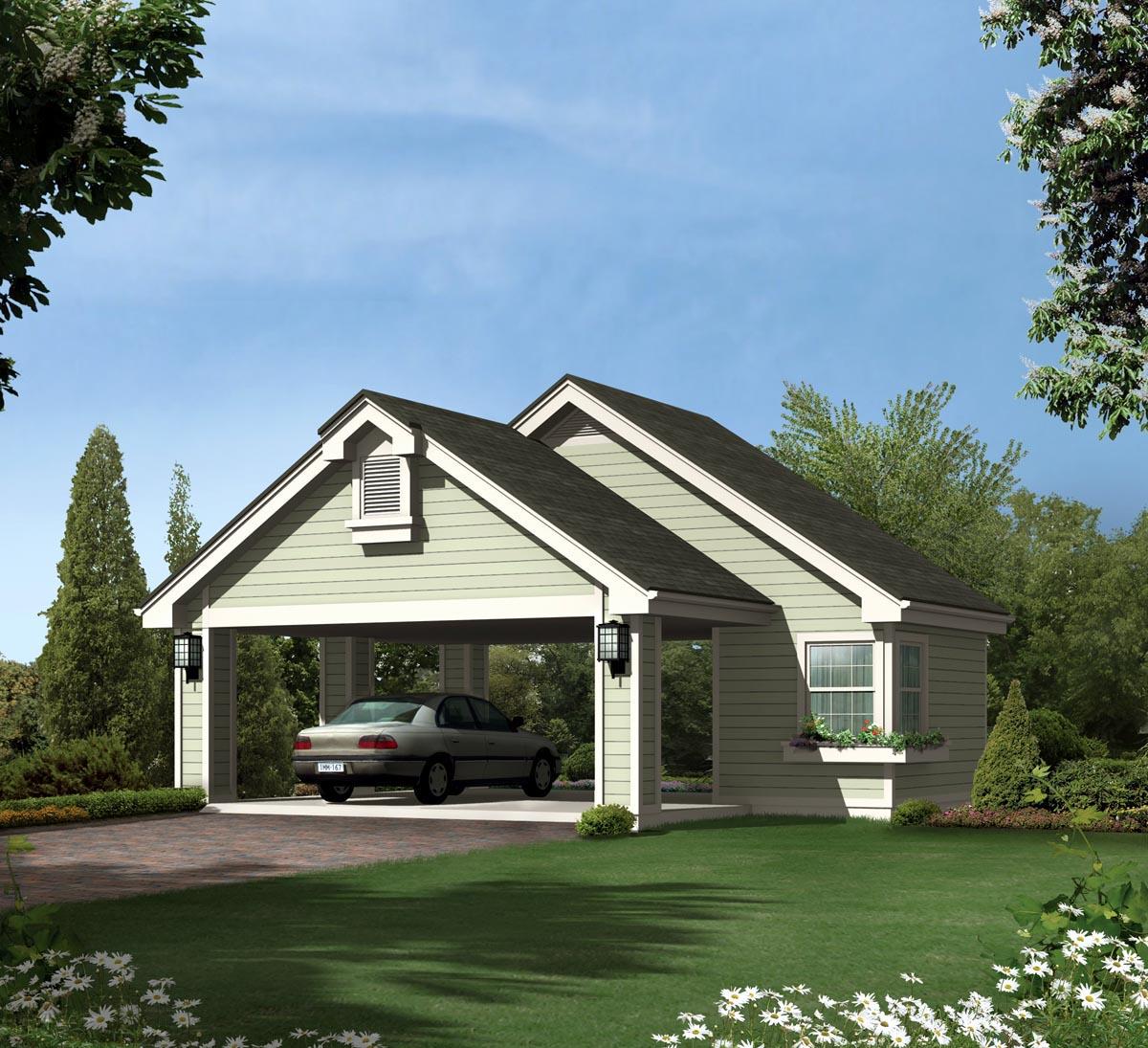 Garage Plan 95826 At Familyhomeplans Com: Garage Plan 95916 At FamilyHomePlans.com