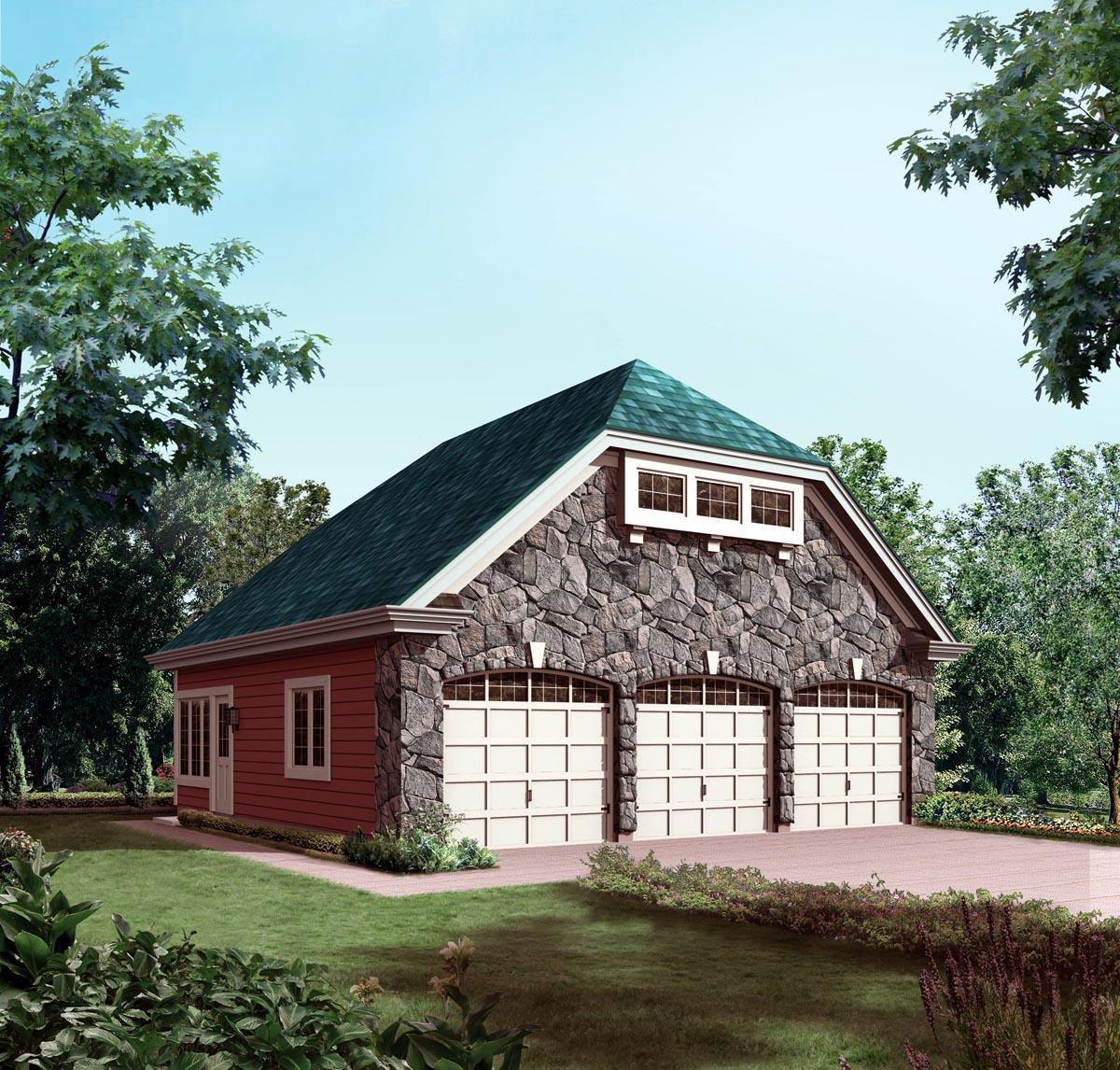 Garage Plan 95826 At Familyhomeplans Com: Garage Plan 95934 At FamilyHomePlans.com