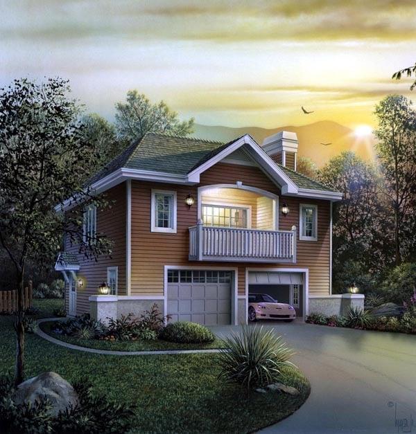 Garage Plan 95936 Elevation