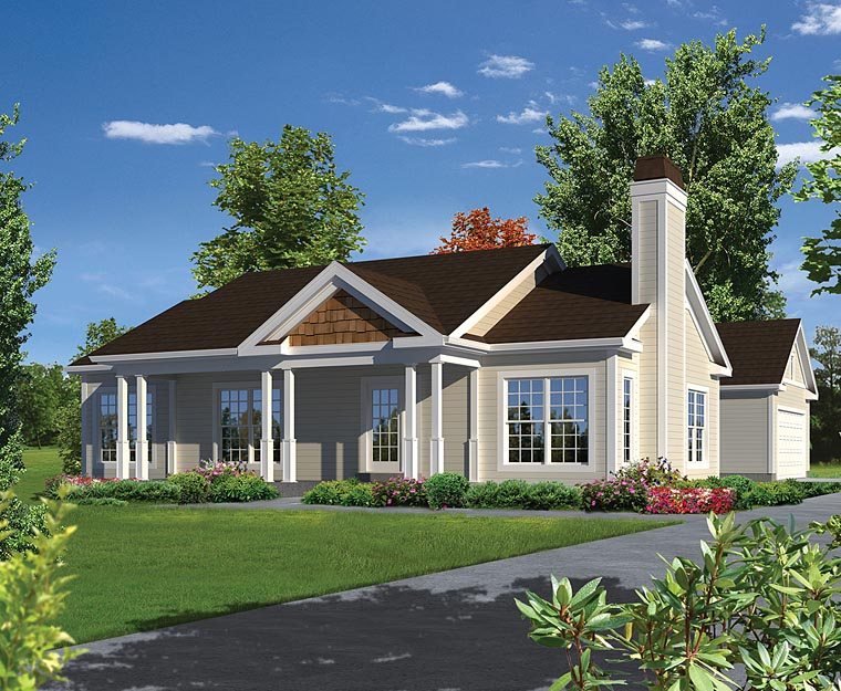 Magnificent Traditional Style House Plan Number 95979 With 3 Bed 2 Bath 2 Car Garage Download Free Architecture Designs Embacsunscenecom