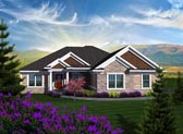 Plan Number 96105 - 2187 Square Feet