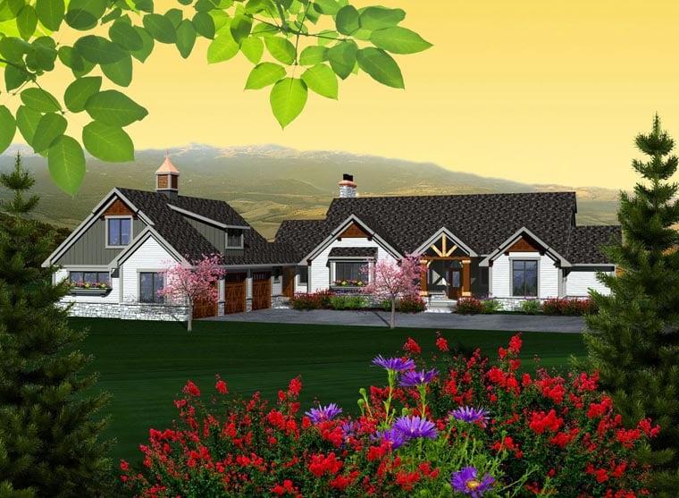 House Plan 96106 Elevation
