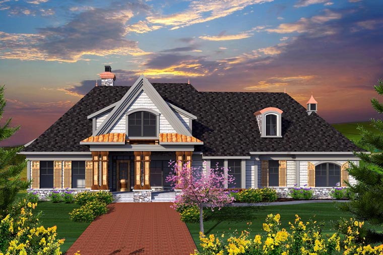 Traditional House Plan 96141 Elevation