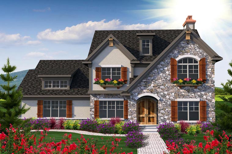 Traditional House Plan 96142 Elevation