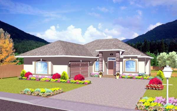 Traditional House Plan 96210 Elevation
