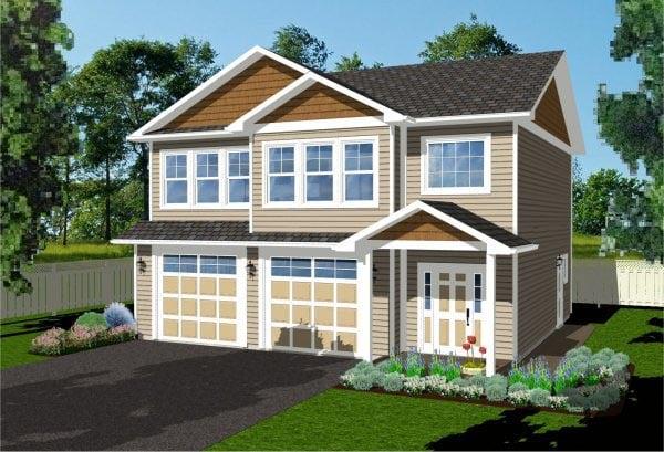 Garage Plan 96214 Elevation
