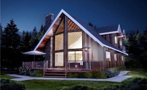 House Plan 96224 Elevation