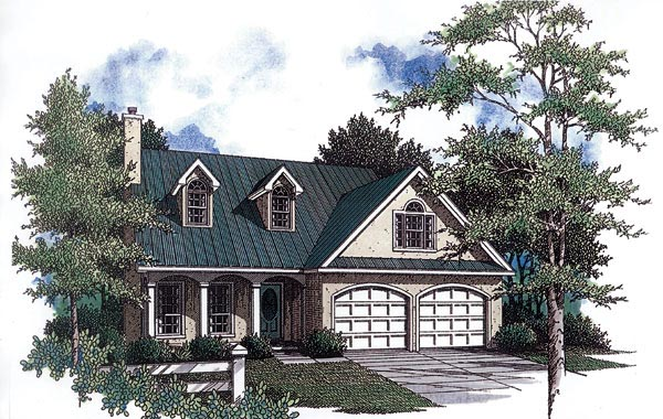Country House Plan 96541 Elevation