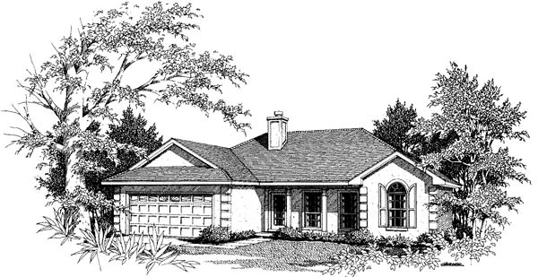Florida Mediterranean House Plan 96573 Elevation