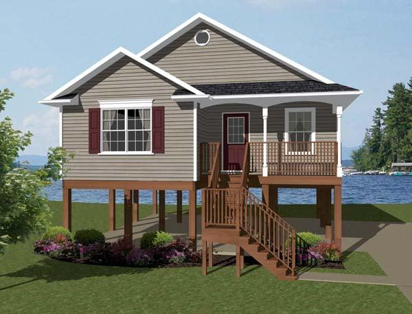 Coastal House Plan 96703 Elevation