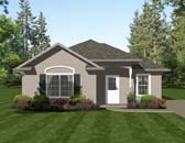Plan Number 96704 - 1013 Square Feet