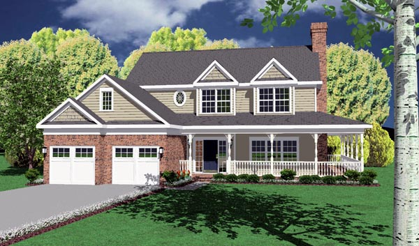 Traditional House Plan 96822