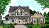 Plan Number 96832 - 2457 Square Feet