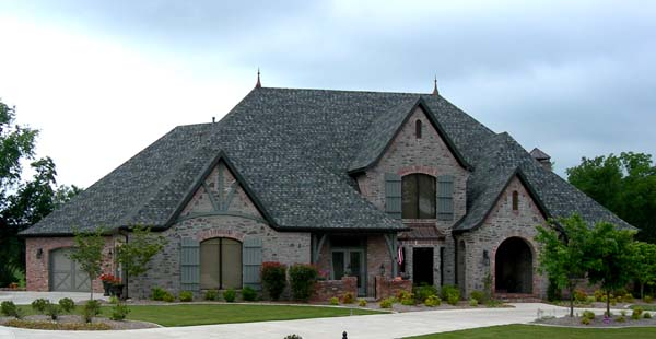 House plan 96885 at for French tudor