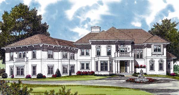 Mediterranean House Plan 96900 Elevation