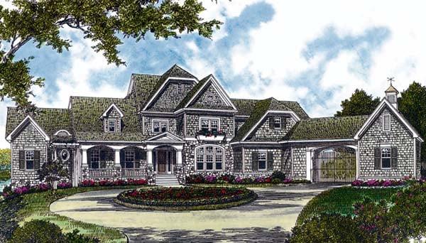 Cottage Craftsman House Plan 96908 Elevation