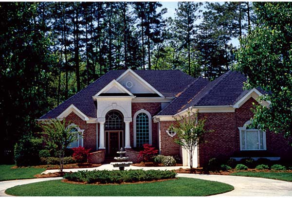 Colonial Traditional House Plan 97050 Elevation