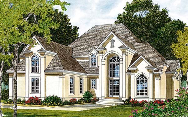 Traditional House Plan 97082 Elevation