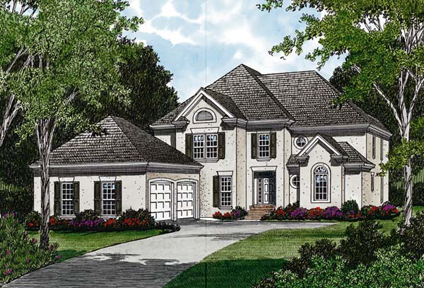 Traditional House Plan 97097 Elevation