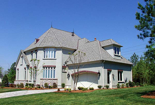 European House Plan 97098 Rear Elevation