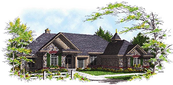 Bungalow Traditional House Plan 97119 Elevation