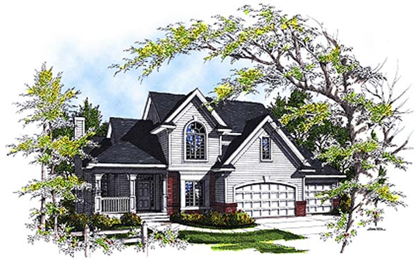 Country House Plan 97120 Elevation