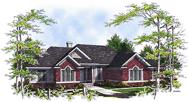 Traditional House Plan 97132