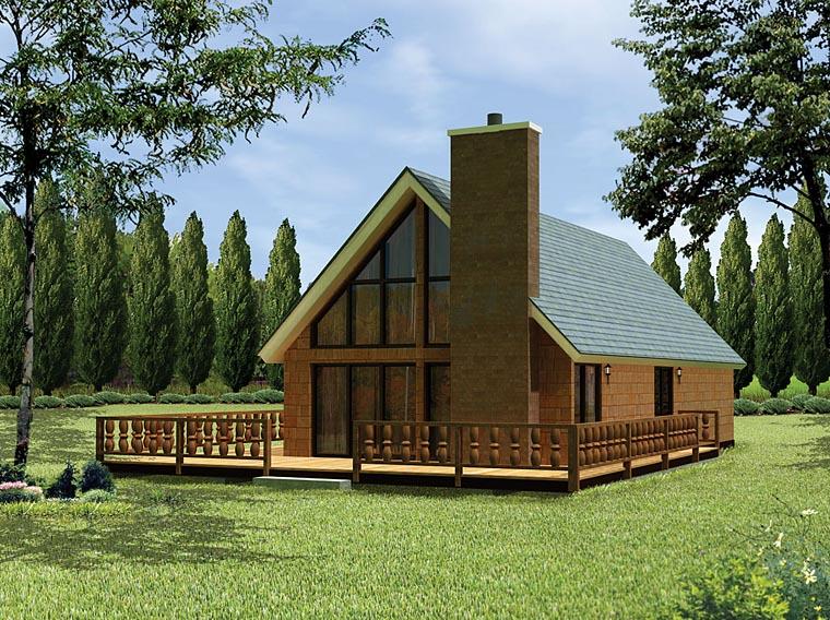 House plan 97200 at for Garage apartment plans menards