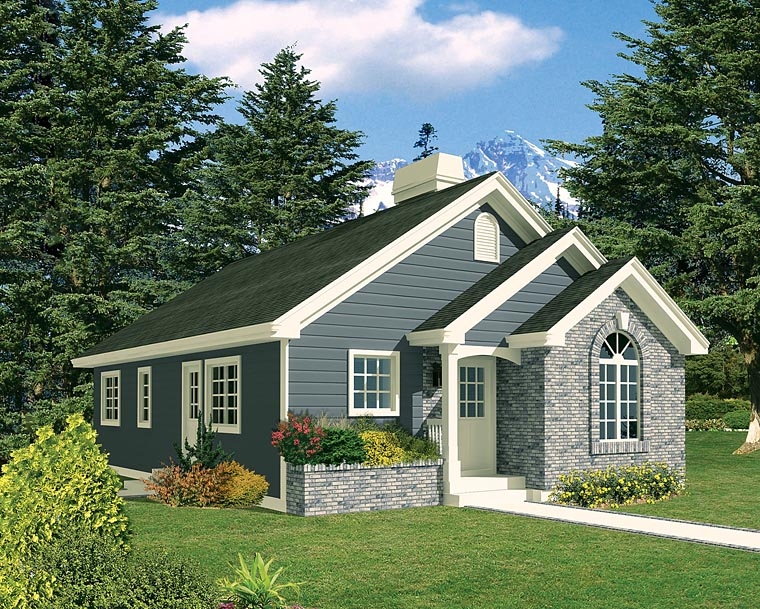 Ranch Traditional House Plan 97203 Elevation