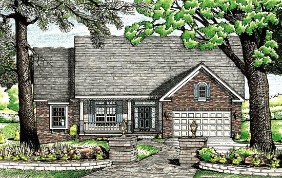 House plan 97456 at for Icf home designs