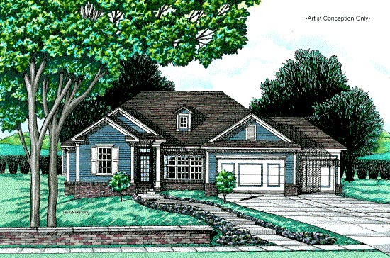 Traditional House Plan 97462