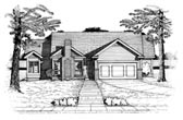 Plan Number 97464 - 1577 Square Feet