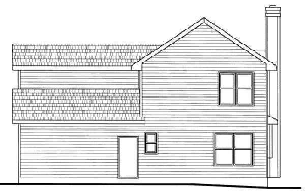 Country House Plan 97479 Rear Elevation