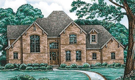Tudor House Plan 97484 Elevation