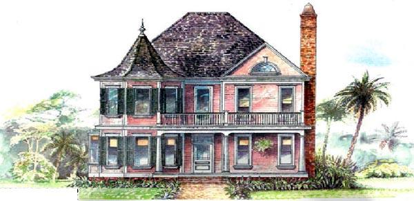Victorian House Plan 97520 Elevation