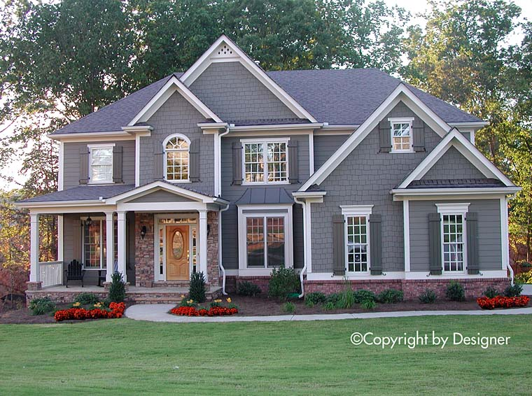 Southern Traditional House Plan 97616 Elevation