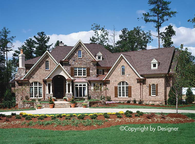 Cottage Craftsman European Southern Traditional House Plan 97617 Elevation