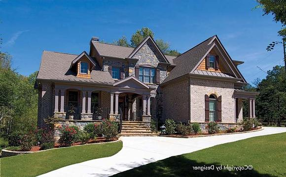 Country, European, Farmhouse, Southern, Traditional House Plan 97619 with 4 Beds, 5 Baths, 3 Car Garage Elevation