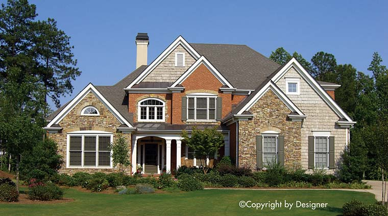 Country Craftsman Traditional House Plan 97625 Elevation
