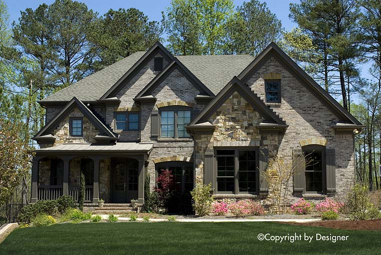 Country European Southern Traditional House Plan 97627 Elevation